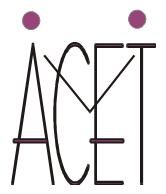 Logo ACET